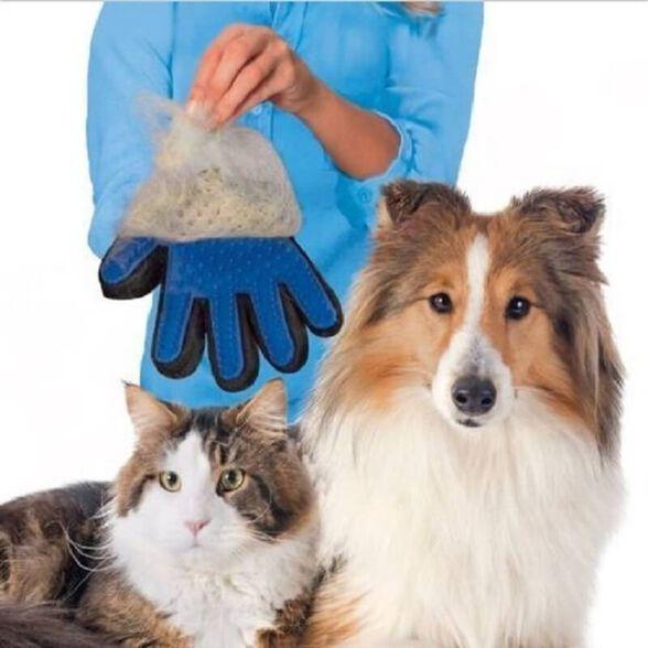 כפפת הטיפוח – TRUE TOUCH: כפפה לסירוק ועיסוי הכלב והחתול, , large image number null