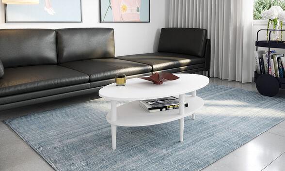 שולחן סלון מודרני דגם אורגון  מבית RAZCO_לבן, , large image number null