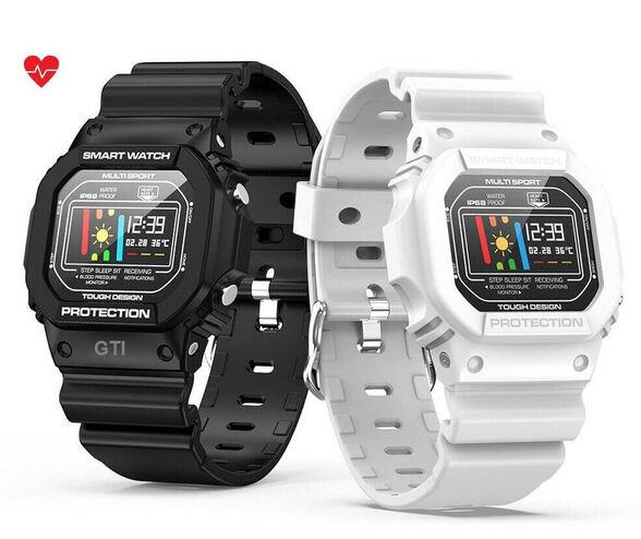 שעון ספורט חכם ומעוצב עם מד דופק ,מד לחץ דם ,מד צעדים, , large image number null
