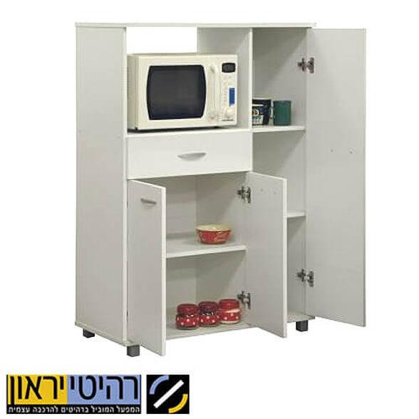 ארונית שימושית לסביבת המטבח, כושר איחסון רב, מגירה 2 דלתות ומדף פנימי, , large image number null