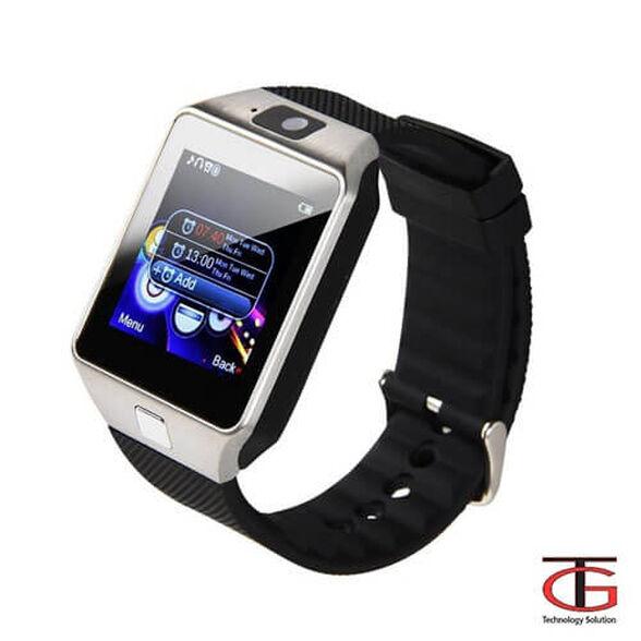 שעון יד חכם עם טלפון סלולרי GSM SIM, מצלמה צבעונית ועברית מלאה, שיחות ישירות ונגן MP4 , , large image number null