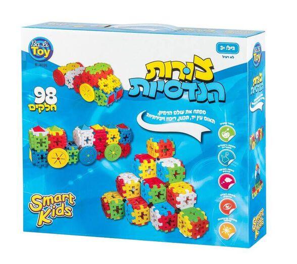 משחק הרכבה צורות הנדסיות | 98 חלקים | SMART KIDS, , large image number null