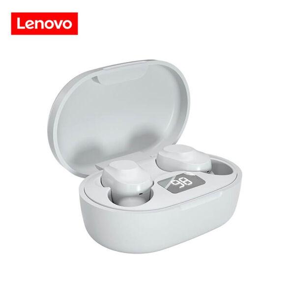 אוזניות כפתור TWS חדשות דגם 2021 – עם סאונד היקפי, מיקרופון מובנה וצג דיגיטלי_לבן, , large image number null