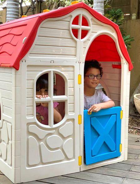 בית ילדים מתקפל מפלסטיק לבית או לחצר תוצרת ישראל RAM, , large image number null