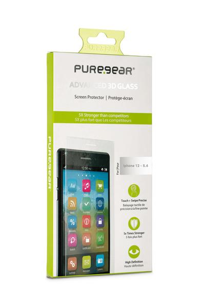מגן מסך זכוכית Pure-Gear למכשיר iphone 12 mini, , large image number null