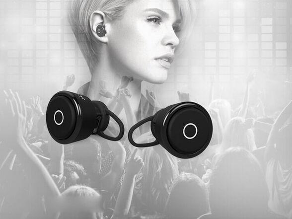 אוזניות בלוטות' Blutooth אלחוטיות נטענות עם מיקרופון מובנה , , large image number null