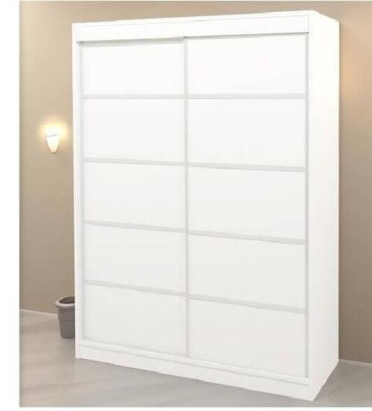 ארון בגדים עם דלתות הזזה בעל תאי איחסון מרובים דגם ניו יורק   במגוון צבעים וגדלים לבחירה, , large image number null