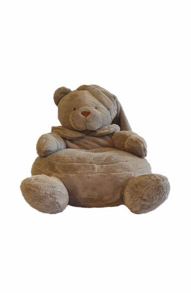 פוף דובי נעים ומפנק שהוא כמו בובת פרווה גדולה דגם Osito מבית SHANGO_אפור, , large image number null