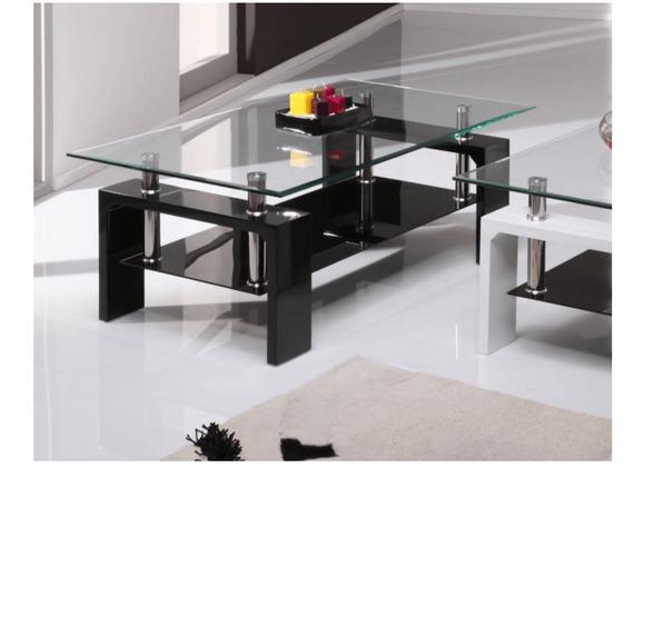 שולחן סלון מזכוכית דגם MILANO מבית GAROX, , large image number null
