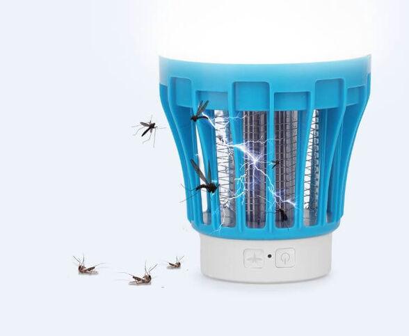 תאורה נטענת בשילוב קטלן יתושים | מוצר חובה לכל קמפינג,חוף הים,דייג,חצר,מרפסת ועוד..., , large image number null