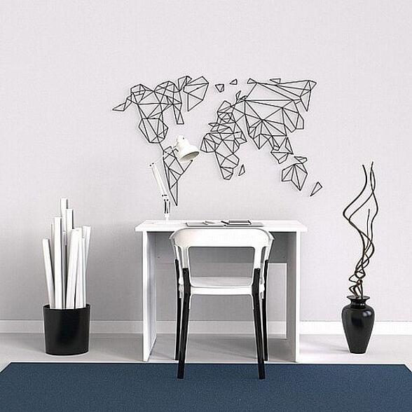 שולחן עבודה מעוצב 92 סמ SO Easy M-1 צבע לבן, , large image number null