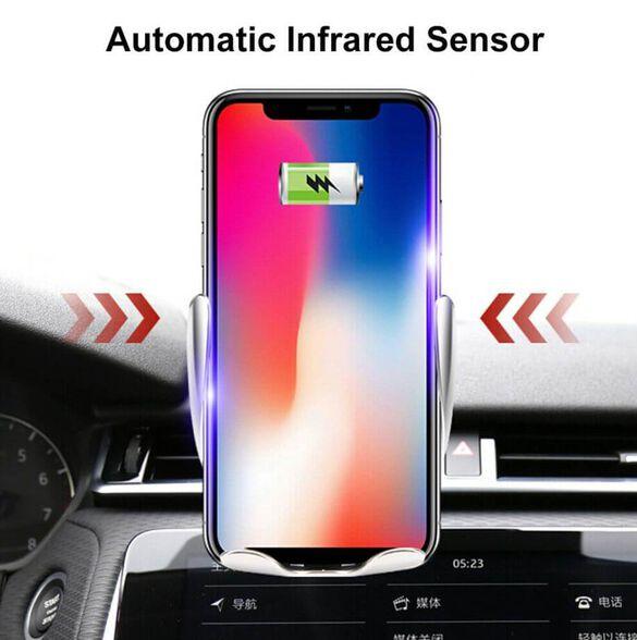 מעמד אוניברסלי חשמלי לרכב עם זרועות הנסגרות אוטומטי משולב עם מטען אלחוטי, , large image number null