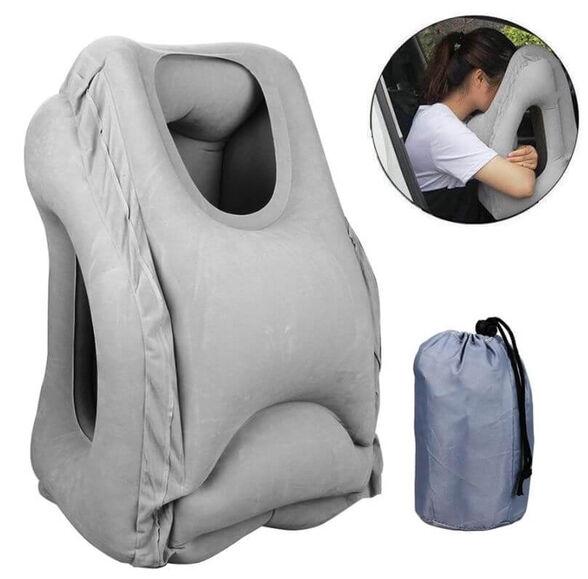 כרית מתנפחת לשינה בישיבה (לטיסה, רכבת, רכב), , large image number null