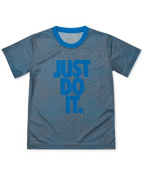 חולצת דריי פיט מעוצבת שרוול קצר לילדים מסדרת פרופומנס NIKE | מגוון מידות לבחירה, , large image number null