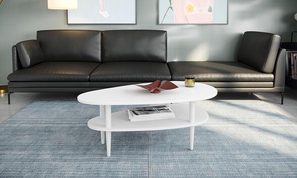 שולחן סלון מודרני דגם יוטה במבחר צבעים לבחירה מבית RAZCO_לבן, , large image number null