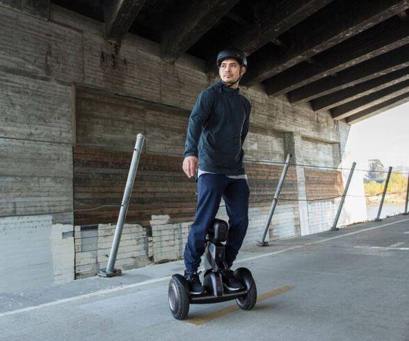 העתיד כבר כאן!!! רובוט לומו ממשפחת המיני סגווי  - Segway Robot Loomo | יבואן רשמי | משלוח חינם, , large image number null
