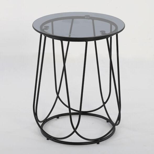 שולחן עגול לסלון דגם בוסטון מבית IDesign, , large image number null