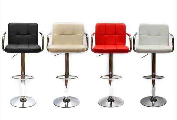 זוג כיסאות בר דגם MSH-3-5P בלי ריפוד בידיות מבית ROSSO ITALY, , large image number null