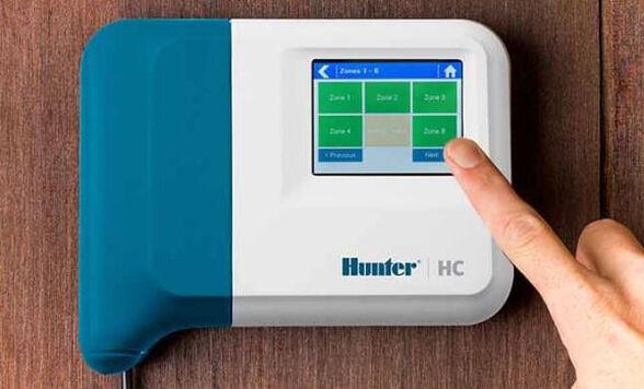 מחשב השקיה WIFI ביתי ,עד 6 אזורי השקיה עם אפשרות הפעלה של כל אזור בנפרד ו - 36 אפשרויות השקיה שונות   מתנה בכל קניה -  2 ברזים חשמליים מתנה, , large image number null