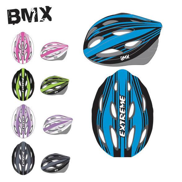 קסדה לאופניים BMX - מידה L - ב 5 צבעים לבחירה, , large image number null