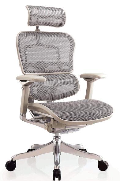 כסא עבודה ארגונומי ואורטופדי לישיבה ממושכת של עד 14 שעות דגם ERGOHUMAN PLUS מבית Comfort, , large image number null