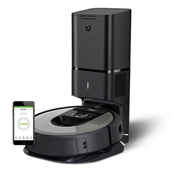 שואב אבק רובוטי +iRobot Roomba i7 בעל מערכת אוטומטית לסילוק פסולת - משלוח חינם , , large image number null