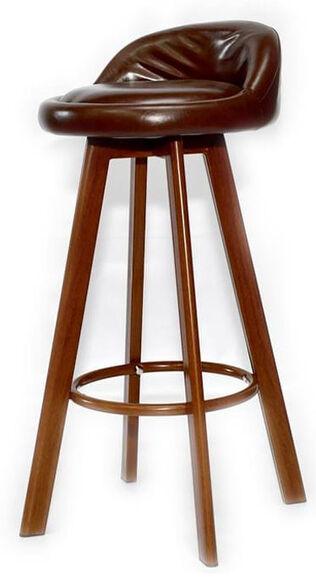 זוג כיסאות בר דגם MSH-3-8 מבית ROSSO ITALY_חום, , large image number null